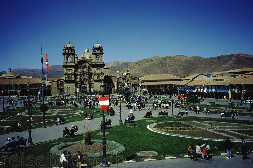 Die Plaza de Armas in Cusco