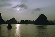 In der Halong-Bucht in Nordvietnam